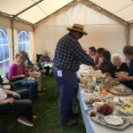 The 'Bring and Share' lunch at the 2015 AGM